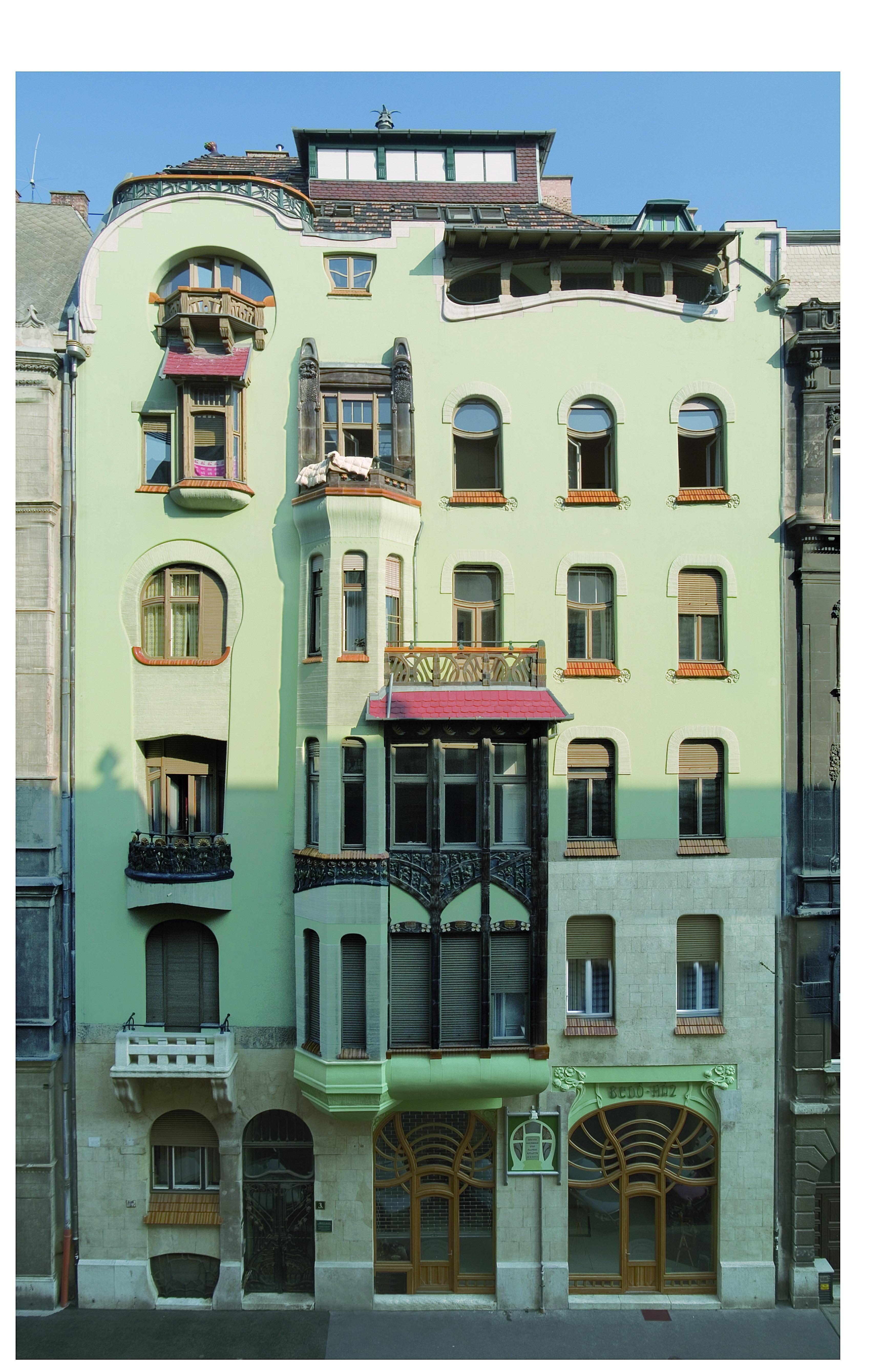 Bedő-ház magyar szecesszió háza Budapest