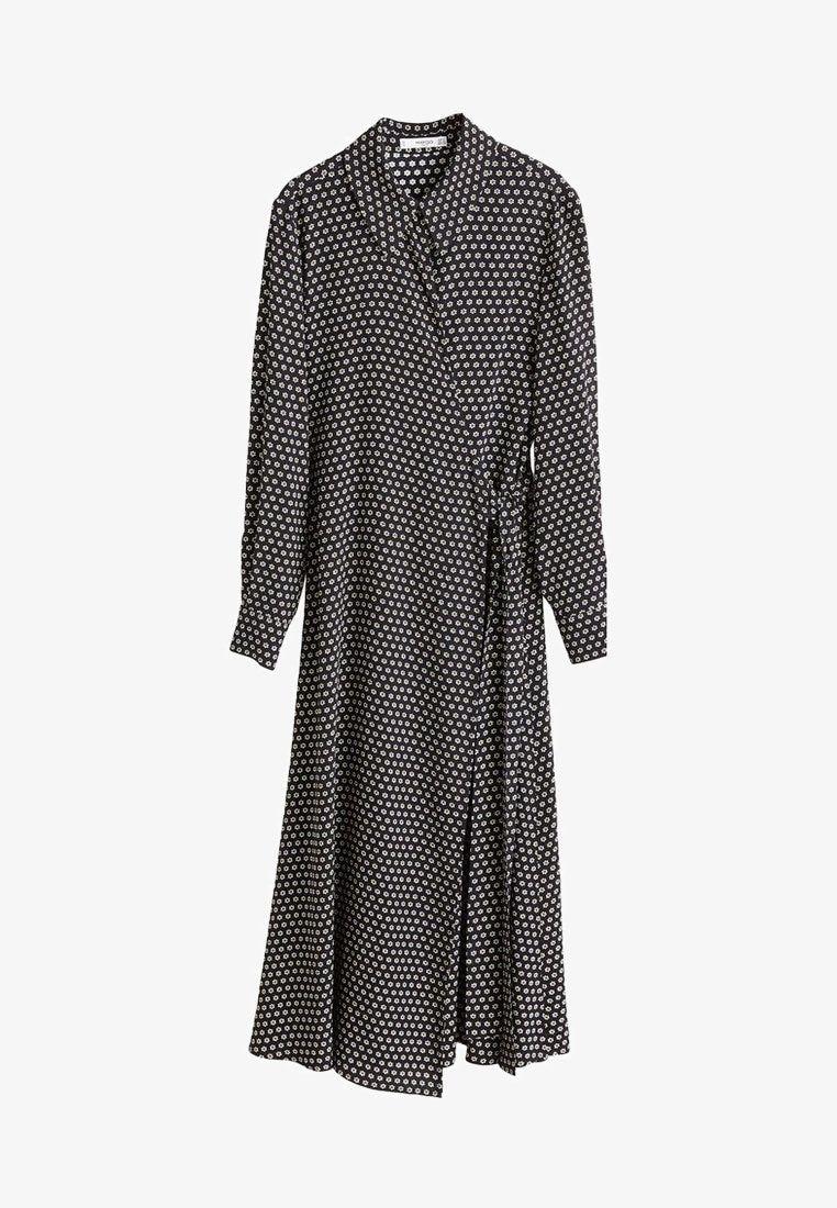 Mango AUDREY - Skjortklänning - black - Zalando.se e353f34b26892
