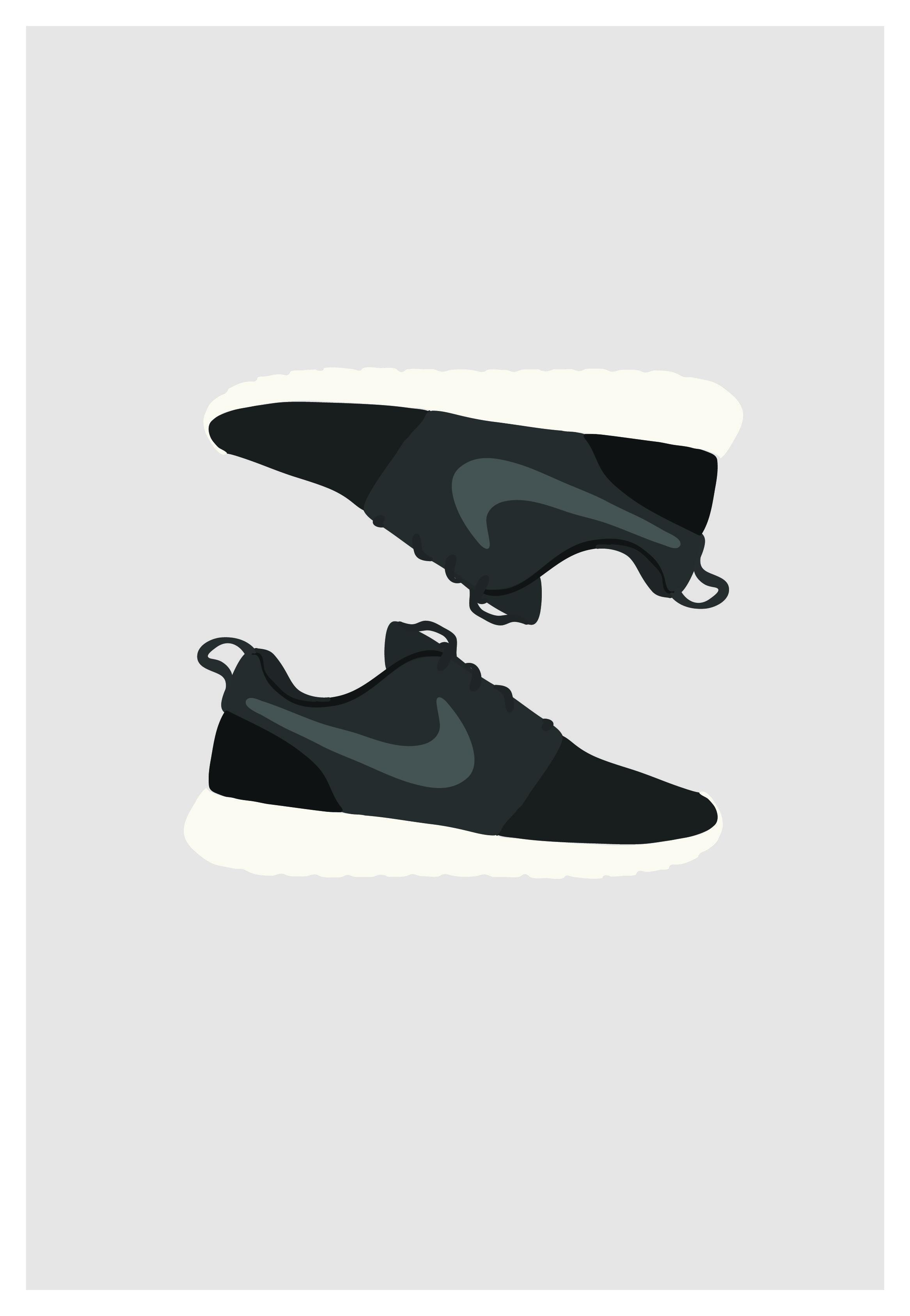 Nike Roshe Ejecutar Audi Blanco Y Negro venta de bonito pmtw5NWq