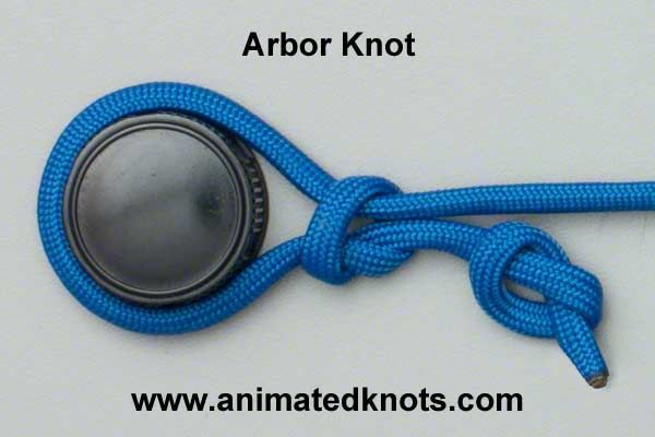 Arbor Knot | How to tie the Arbor Knot