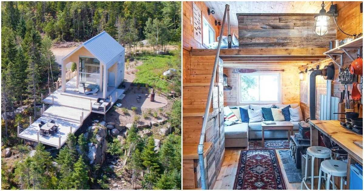 8 Tiny Airbnb Homes Around Quebec That Are Perfect For