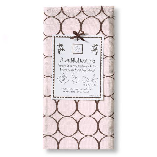 SwaddleDesigns Marquisette Swaddling Blanket, Brown Mod Circles, Pastel Pink SwaddleDesigns http://www.amazon.com/dp/B001GRX3PK/ref=cm_sw_r_pi_dp_bkguub118TTV3