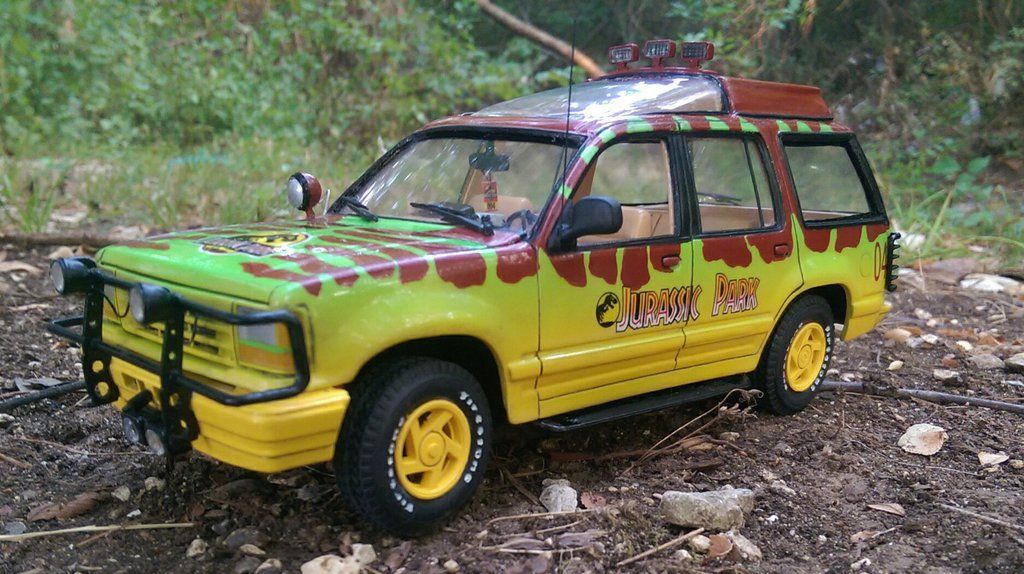 Ford Explorer In Jurassic Park Movie Dress As Seen At The June