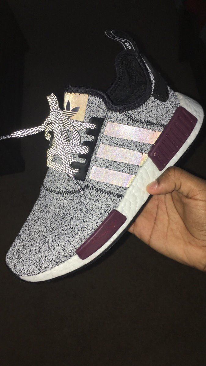 separation shoes 6ad59 11db0 Adidas Sneakers, Adidas Nmds, Gray Adidas, Maroon Adidas Shoes, Cute  Addidas Shoes
