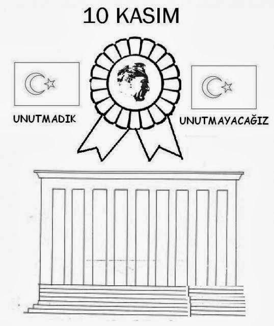 Ataturk Ataturkboyama Boyama 10kasimboyama Okul Alfabe Boyama Sayfalari Ve Boyama Sayfalari