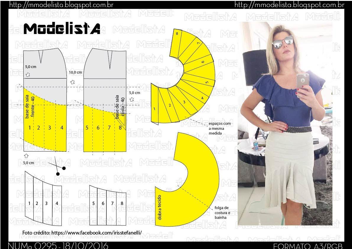 A3+295++-01.jpg (1191×842)   moldes   Pinterest   Patrones, Costura ...