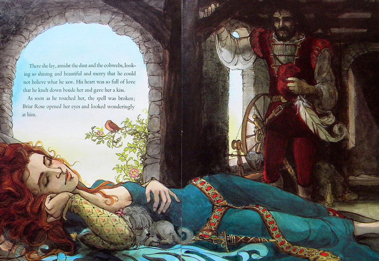 Trina Schart Hyman «The Sleeping Beauty» — Картинки и ...