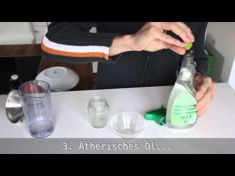 Bio-Kraftreiniger für Küche \ Bad - selbstgemacht und unschlagbar - hausmittel gegen ameisen in der küche