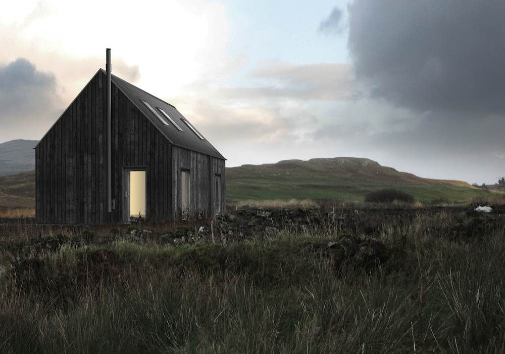 black vincent timber clad houses | Havens South Designs loves R House Timber Frame Homes from ...