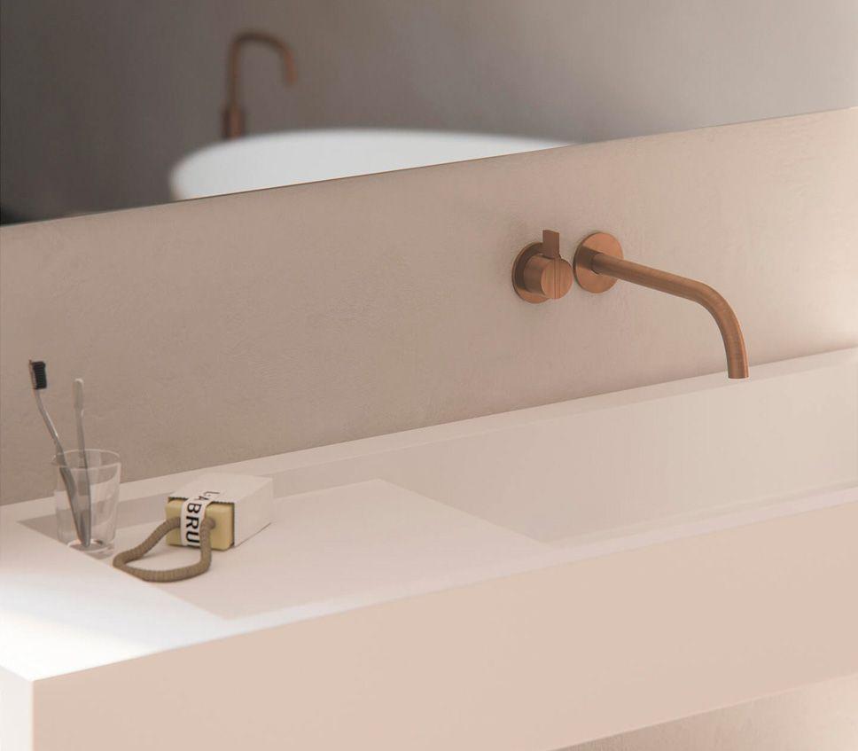 Raw Copper Collection Badezimmer wasserhahn, Badezimmer