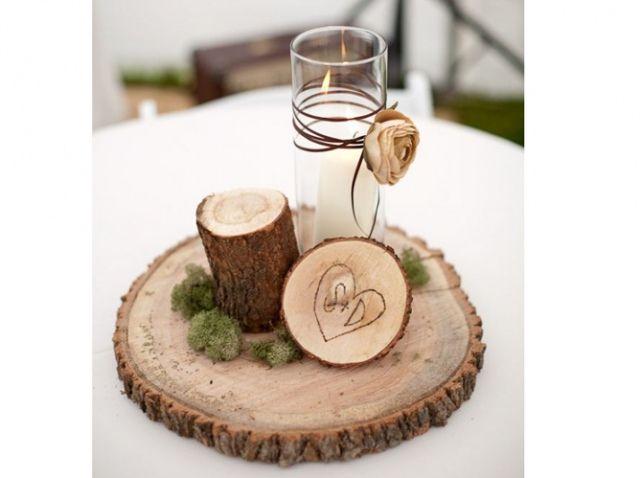 centre table rondin bois id es brick pinterest. Black Bedroom Furniture Sets. Home Design Ideas