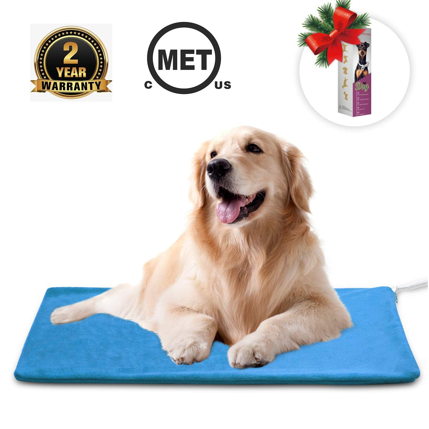 Marunda Pet Heating Pad Cat Dog Electric Pet Heating Pad Indoor Waterproof Auto Constant Temperature Chew Resistant In 2020 Pet Heating Pad Dog Bed Mat Cool Dog Beds