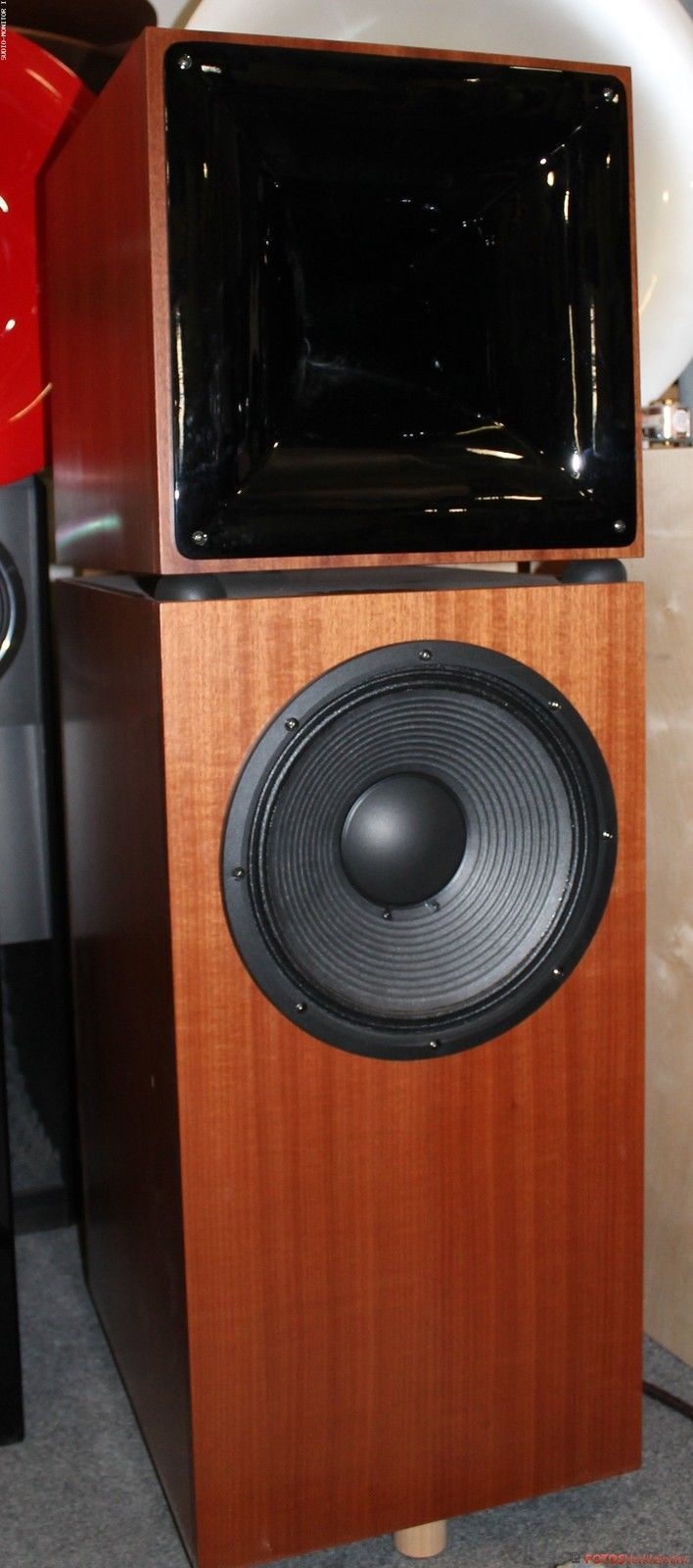 details zu jabo klh 36 square horn quadratisches horn 36. Black Bedroom Furniture Sets. Home Design Ideas