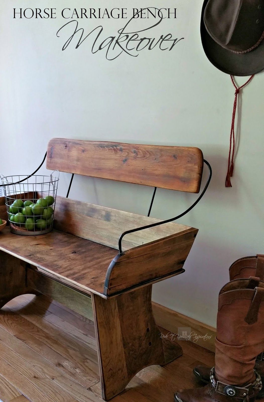 Horse Carriage Bench Seat Makeover | Redo It Yourself Inspirations : Horse Carriage Bench Seat Makeover