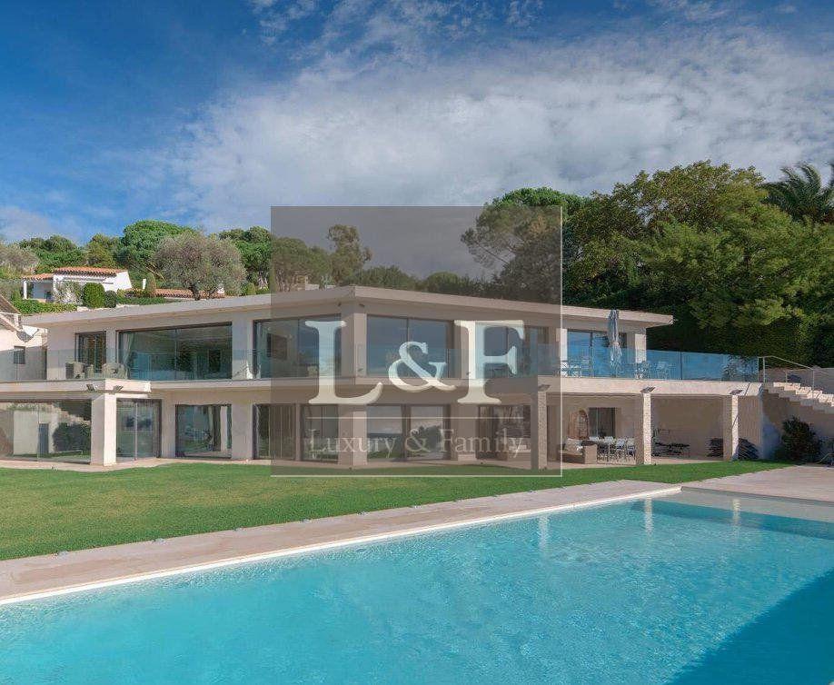 Vente maison villa contemporaine vue mer cannes Villas, Dressing - frais annexes construction maison3