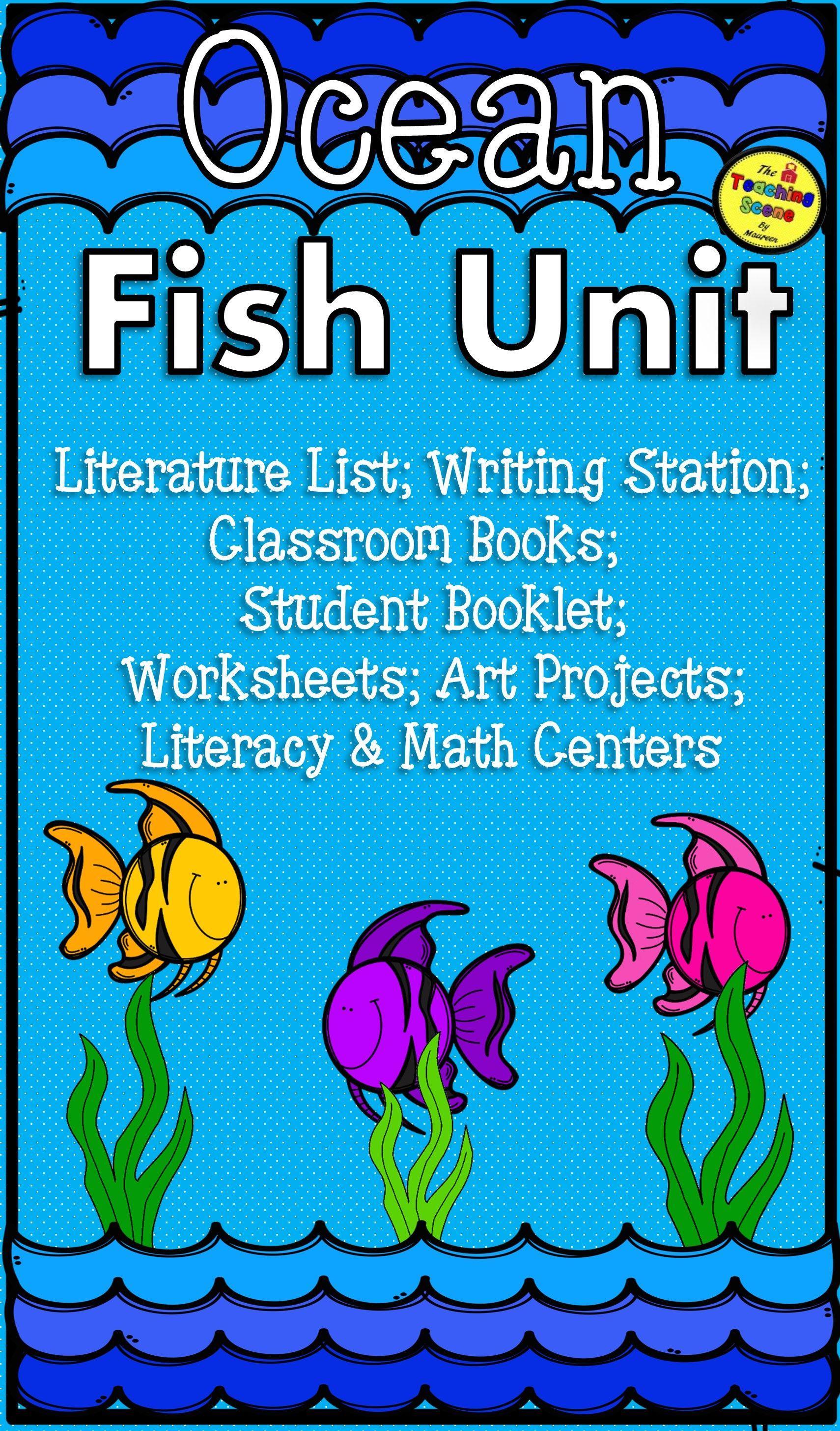 Fish Unit Ocean Theme Centers Amp Activities