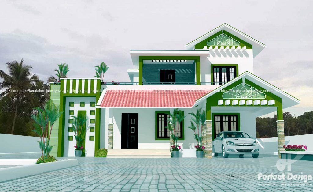 Ground Floor Is Designed In 87 Square Meters 936 Sq Ft Porch Sit Out Living Dining 2 Bed Room Attached Bath Common B House Remodeling Plans House House Plans