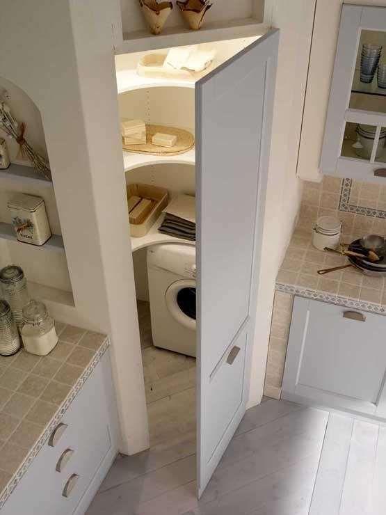 Come ricavare un ripostiglio - Ripostiglio ad angolo | Interiors ...