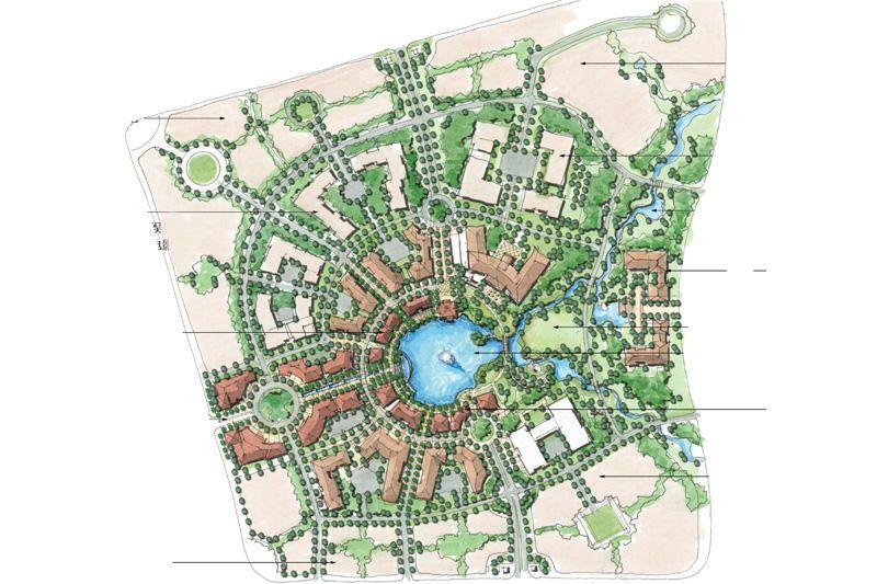 Longping Masterplan // land planning // GCH geyer coburn