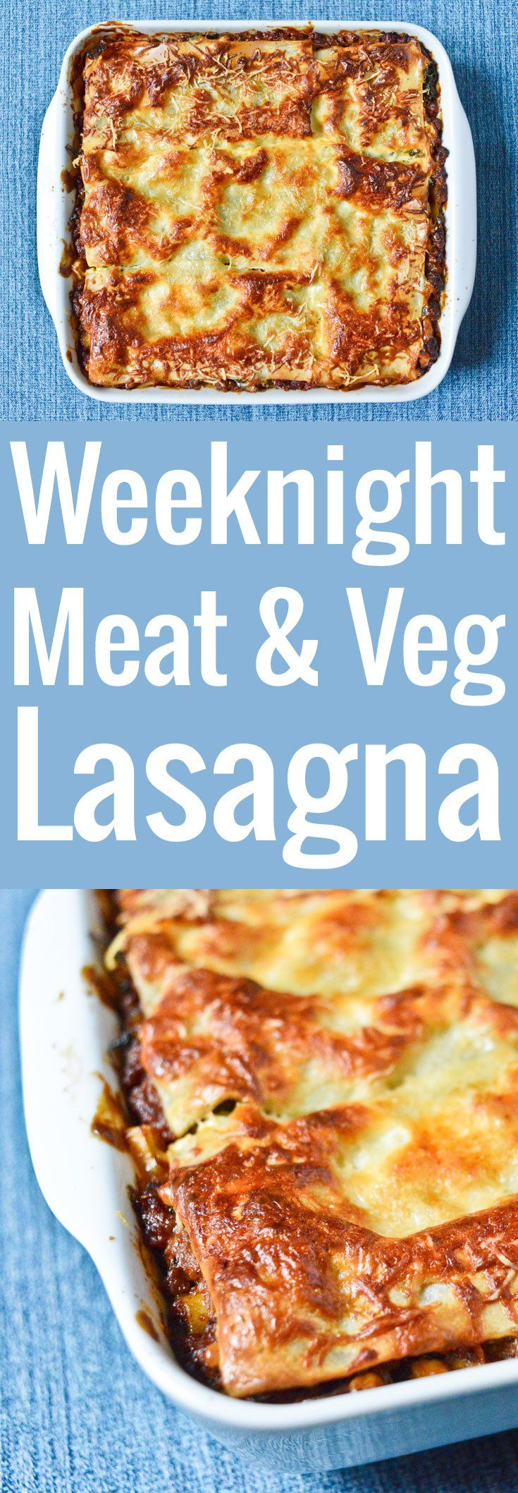 A fabulous recipe for a sumptuous lasagna, with plenty of flavorful vegetables for a super satisfying weeknight dinner.