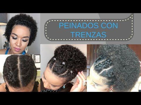 Peinado Egipcio Para Cabello Afro Corto Estilo Protector Youtube