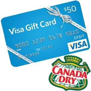 free visa gift cards from canada dry httpifttt - Visa Gift Card Canada