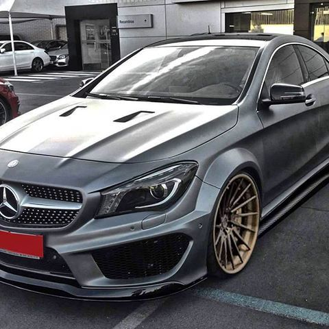 What Do You Think About Our Blackline Bodykit For Mercedes Cla 1