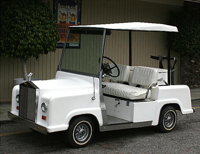 Rolls Royce Golf Cart >> Rolls Royce Golf Cart Kit Must See Custom Golf Cart Pinterest