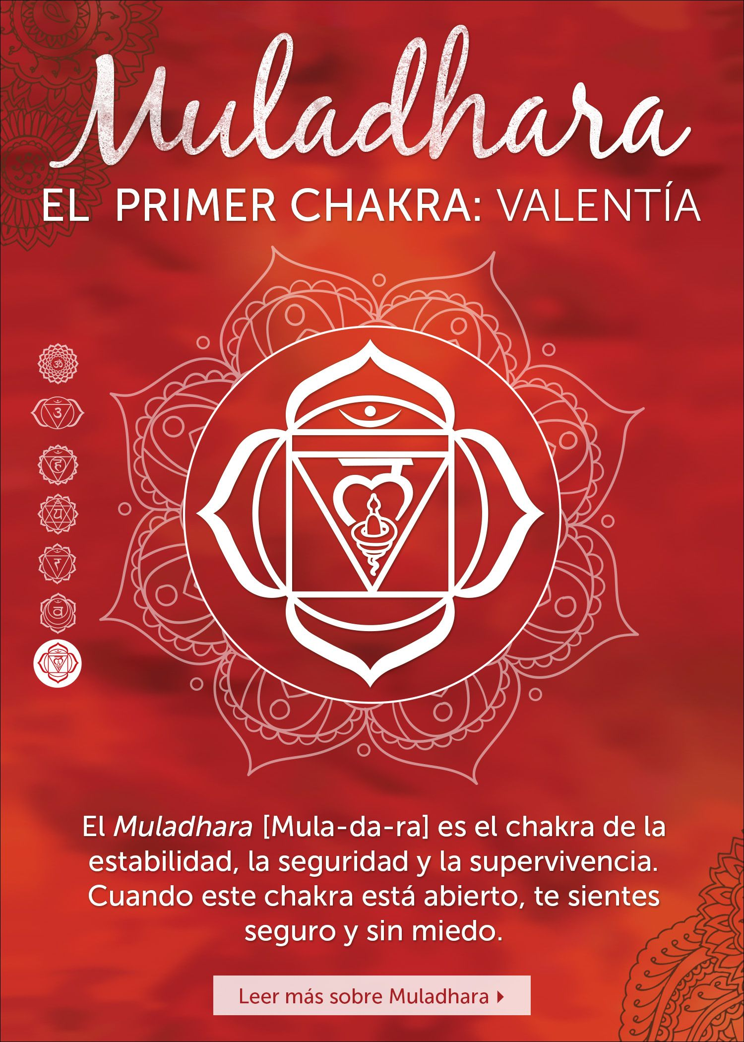 1st Chakra, Chopra meditation #chakra #muladhara #red ...