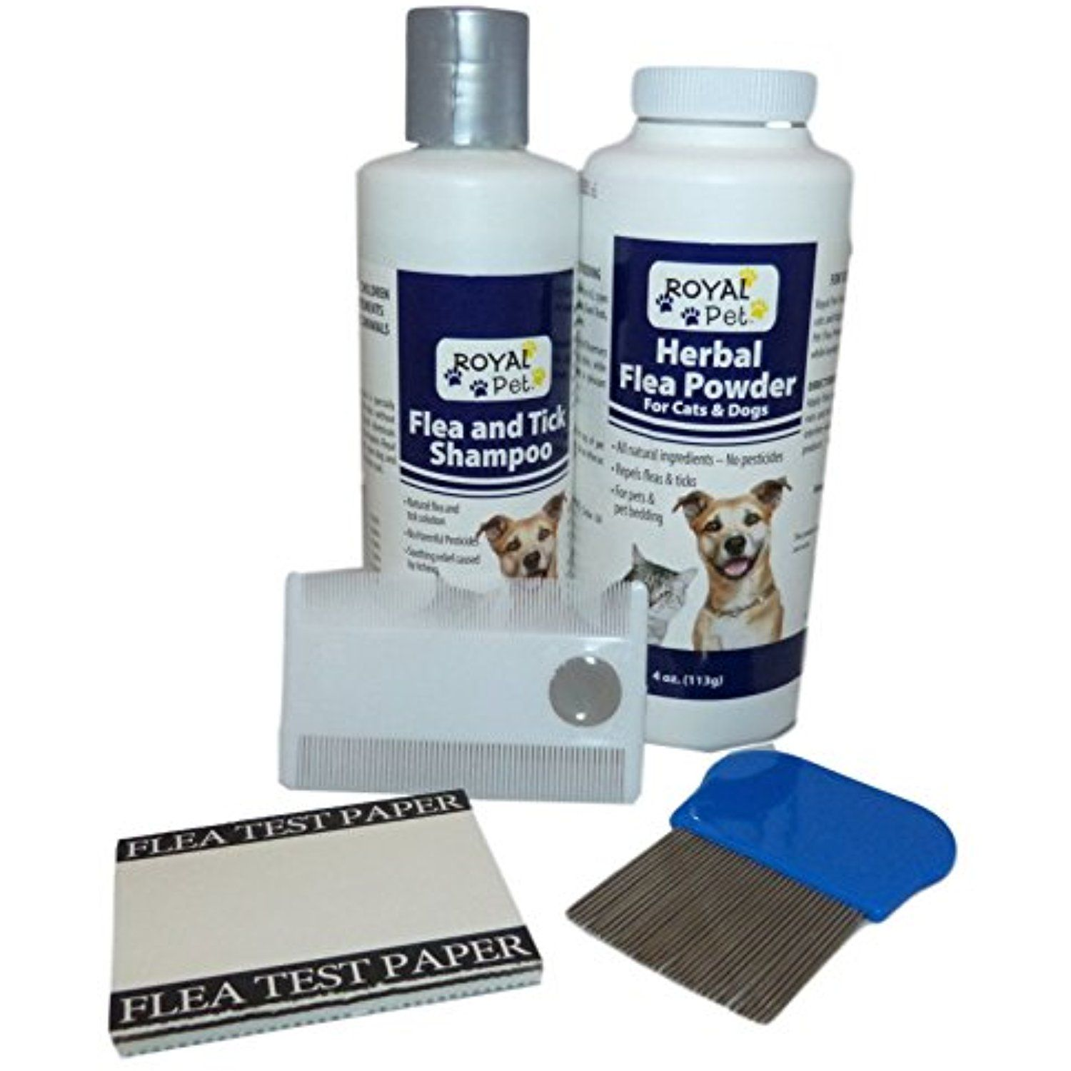 All Natural Flea Prevention Bundle For Cats And Dogs Royal Pet Natural Flea And Tick Shampoo Cats With Images Cat Fleas Flea Powder Dog Shampoo