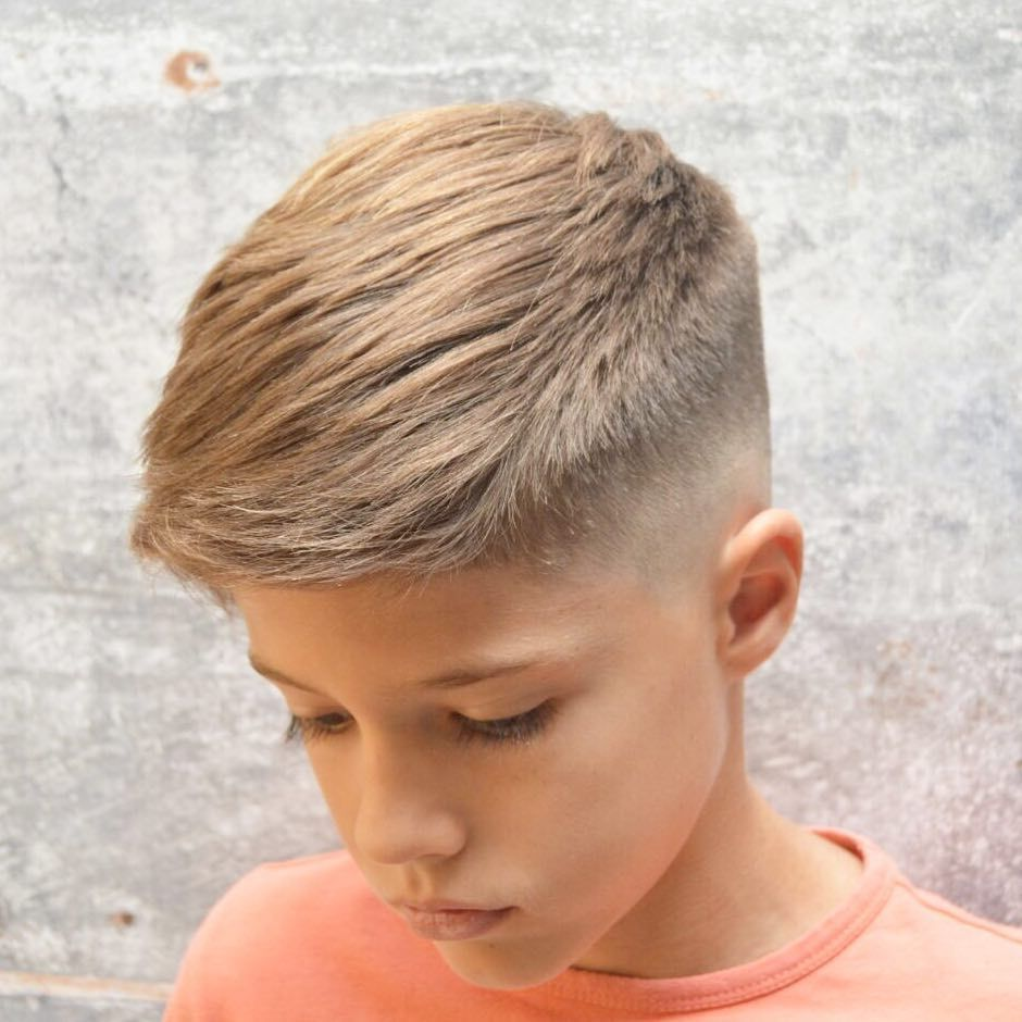 Boys Haircuts Long On Top Short On Sides And Back