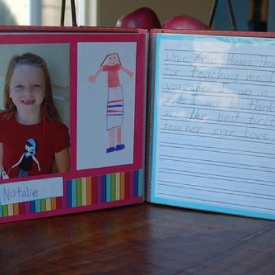 Teacher Appreciation Scrapbook {Scrap Book} | Teacher ...