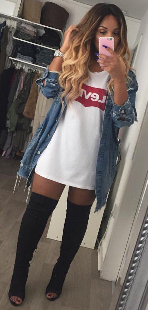 Jeans Shorts High Waist Urban Classics Ladies High Waist Denim Skinny Shorts TB9