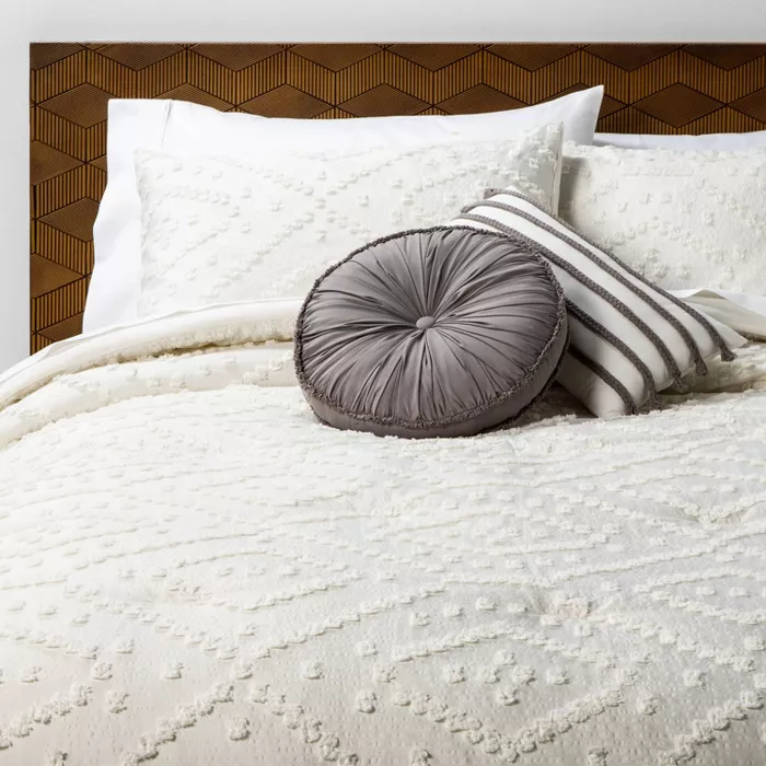 Olympia Clipped Comforter Set Opalhouse Comforter Sets Target Comforter Comforter Bedding Sets