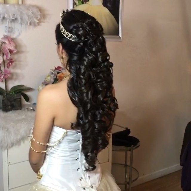 20 Absolutely Stunning Quinceanera Hairstyles With Crown