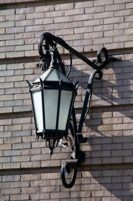 How To Clean Wrought Iron Exterior Lighting Iron Lighting