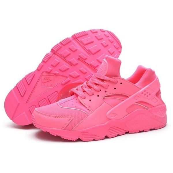 Outlet HT8UI Women's Nike Air Huarache Sneakers Pink 634835