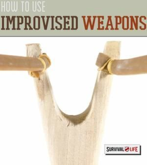 How to Make Use of Improvised Weapons | DIY Cool Alternative Gear When Ammo is Scares by Survival Life http://survivallife.com/2014/10/09/improvised-weapons/