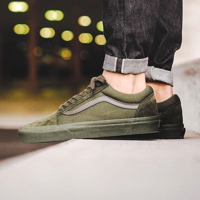 Restock! Vans Old Skool Ivy Green available now