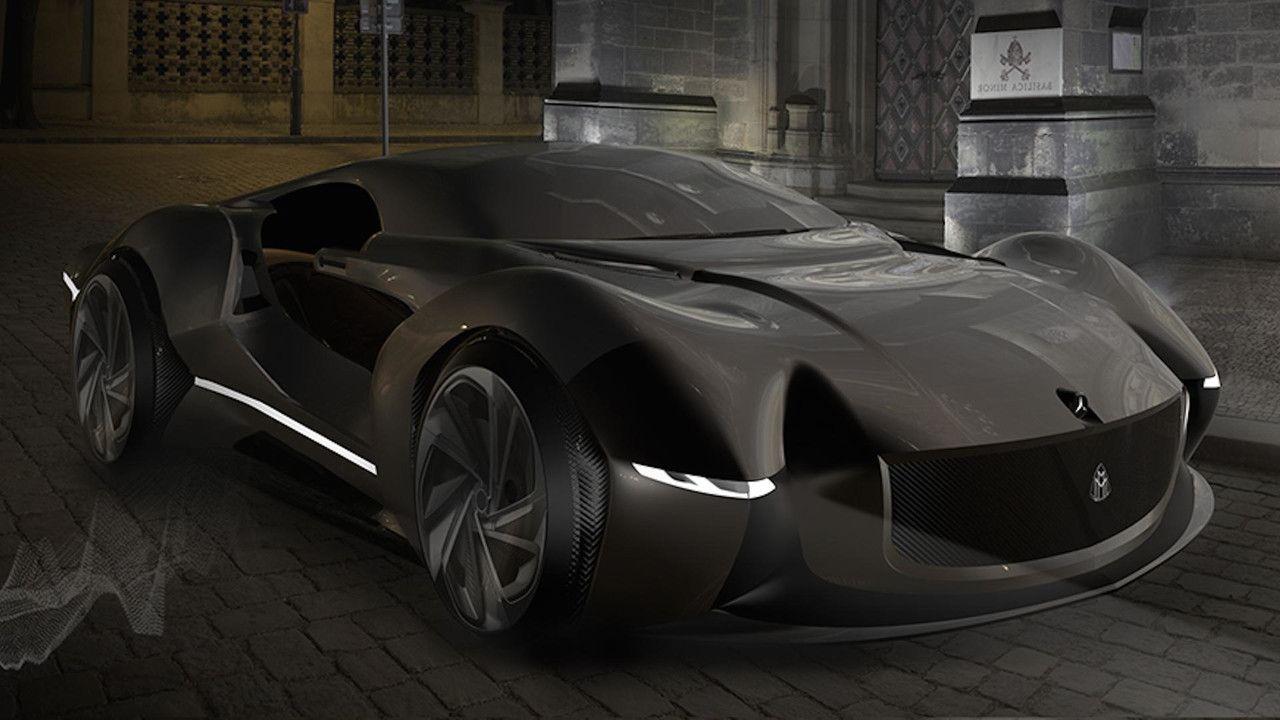 Mercedes Maybach Supercar Concept Sport Cars Supercars