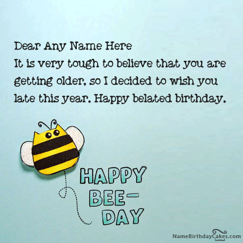 Write name on best happy belated birthday card picture hbd free hd happy birthday cake images photos pictures to be used on your friend or family special day unique pictures of birthday cakes to bring smile on bookmarktalkfo Images