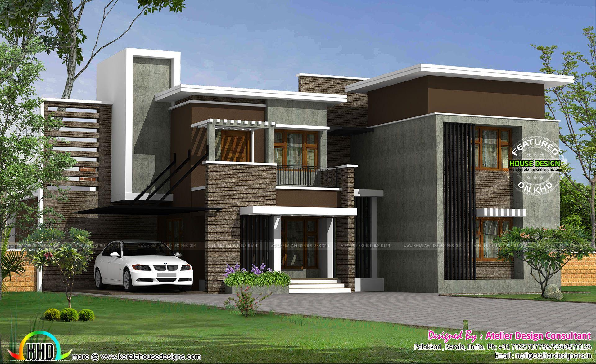 Modern Kerala House Design 2016 At 2980 Sq Ft: Contemporary 2750 Sq-ft Floor Plan