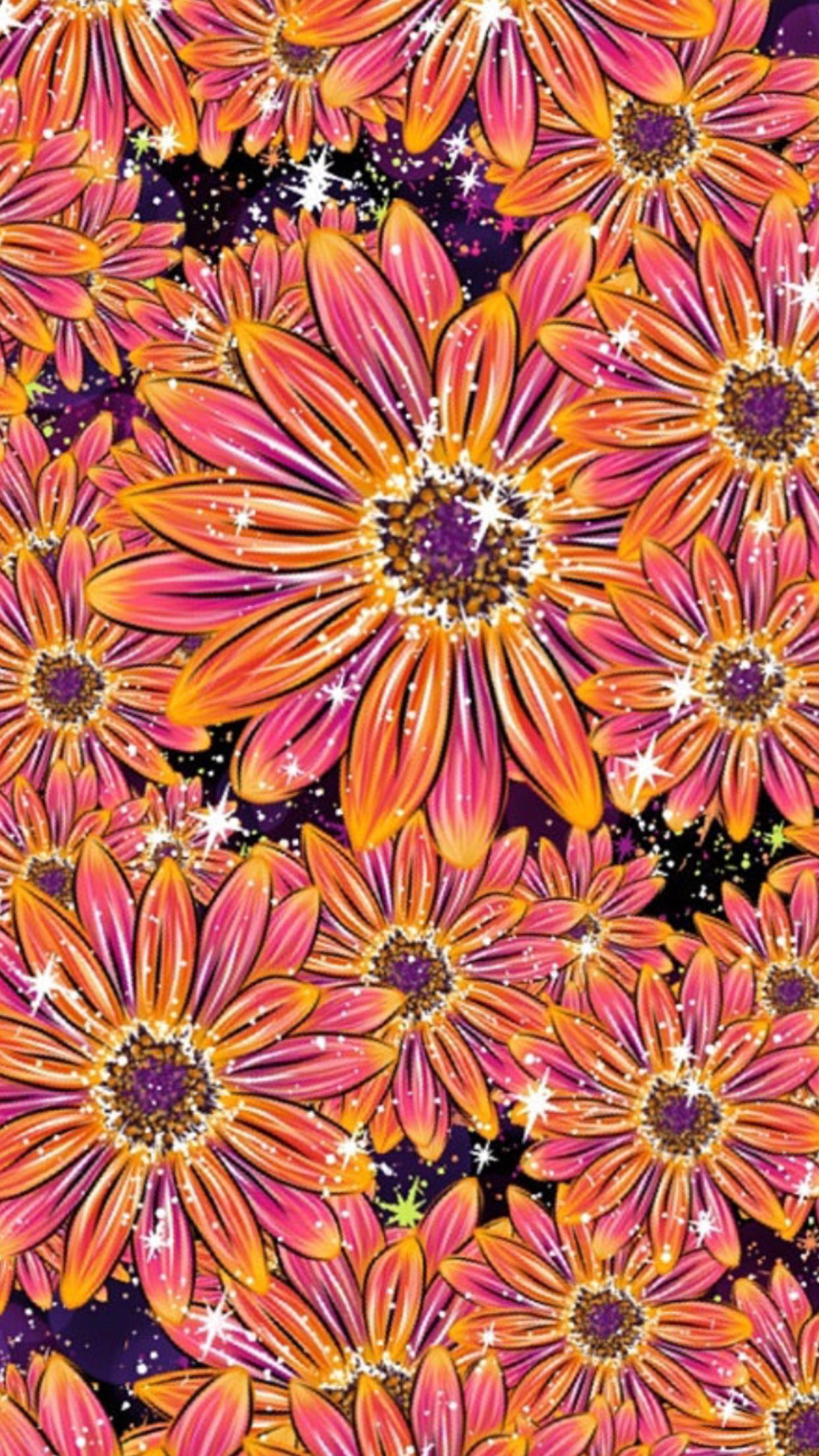 Pin by 𝓜𝓲𝔃𝓴𝓪𝔂𝓽 on ρ૨єττყ ρคττє૨ทઽ Flower iphone