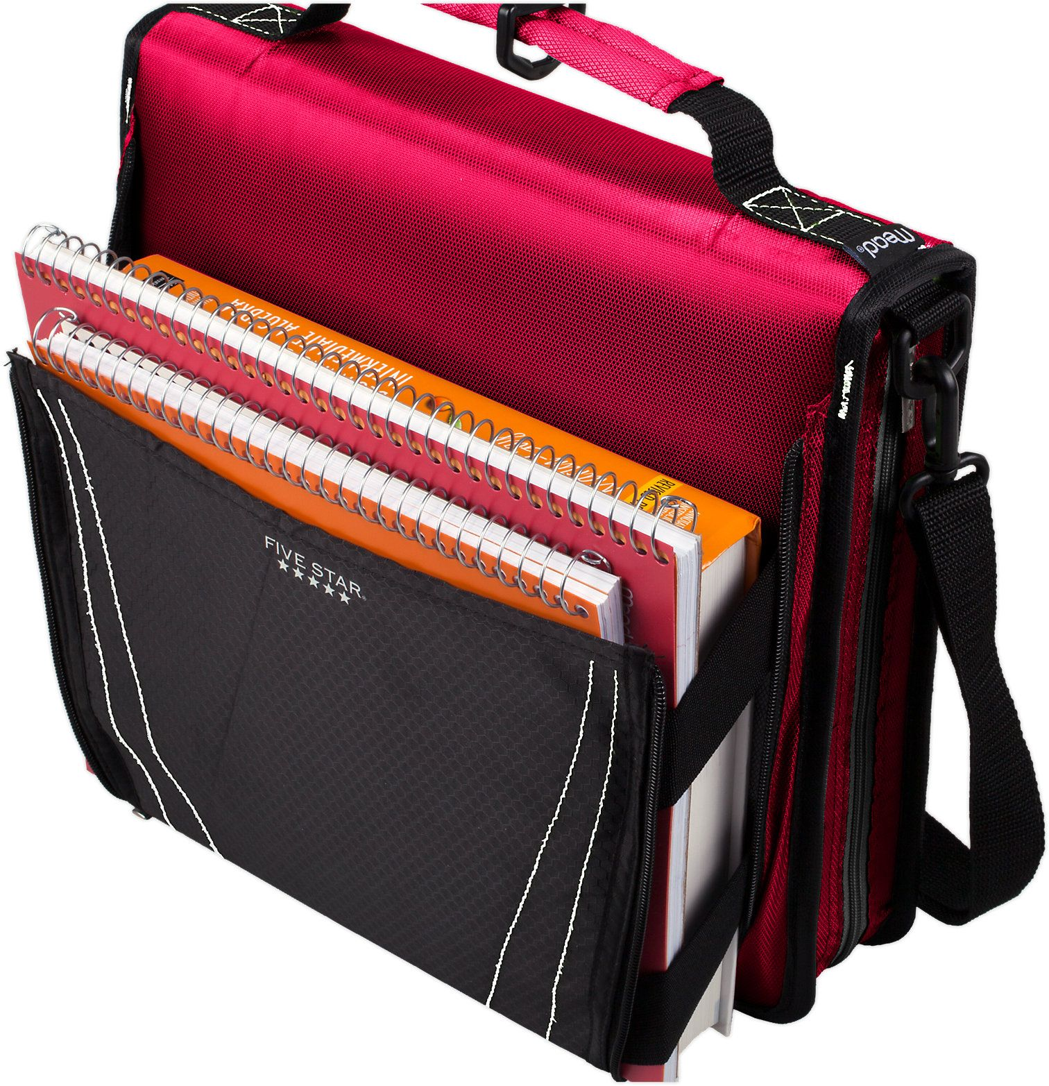 "Five Star® 2"" Zipper Binder + Expandable Pocket (29060"