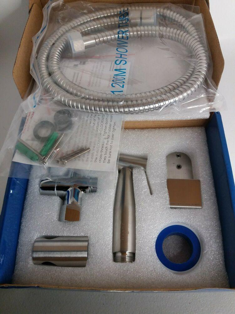 Luxury Stainless Steel Bidet Sprayer Kit Variable Water