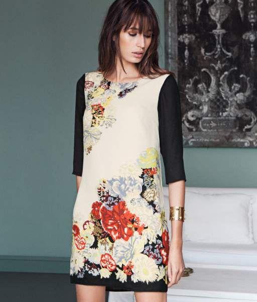 cfdc86559 vestidos rectos floreados - Buscar con Google