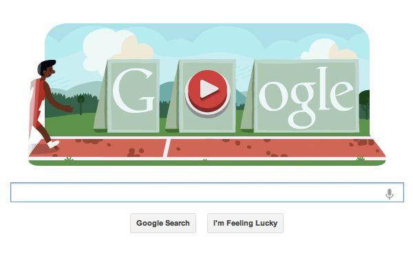 Olympics Google Doodle Is Keyboarding Fun Google Doodles Doodles Google