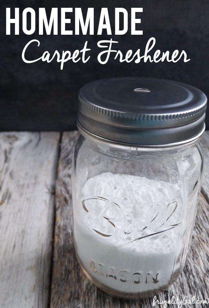 Homemade Carpet Freshener Carpet Freshener Diy Cleaning