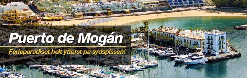 Reiser til Puerto de Mogán, Gran Canaria - Sydenreiser, hotell og restplasser - Solia