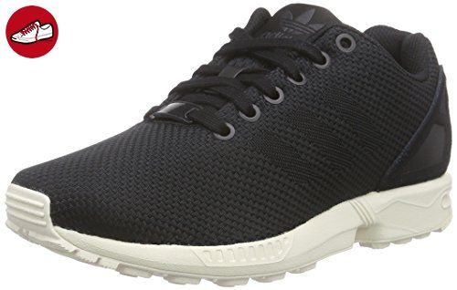 adidas Originals ZX Flux Weave M19873, Unisex-Erwachsene Low-Top Sneaker,  Schwarz